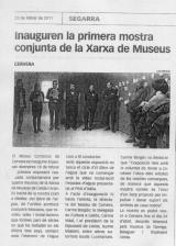 Inauguren la primera mostra conjunta de la Xarxa de Museus