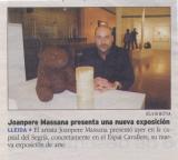 Joanpere Massana presenta una nueva exposición