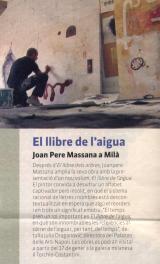 El llibre de l'aigua. Joan Pere Massana a Milà