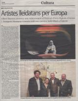 Artistes lleidatans per Europa