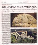 Arte leridano en un castillo galo