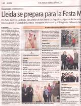 Lleida se prepara para la Festa Major.